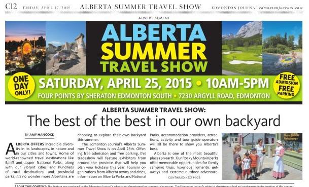 Alberta Travel Show