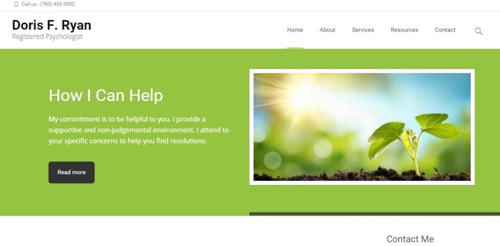 Doris Ryan Web screen